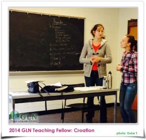 Tanja Crk Croation Teaching Fellow