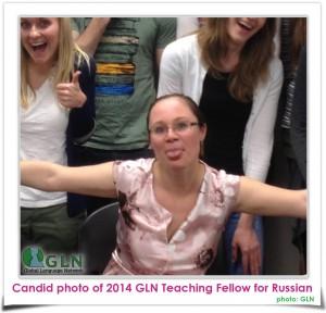 Tamara James GLN Russian Teaching Fellow