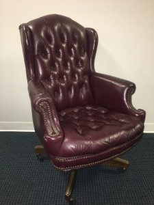 Executive Leather Office Chair1